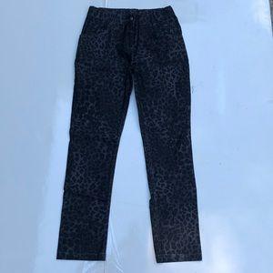 3 Pommes Girl Jeans Leopard Print
